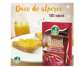 Doce de alperce, 100% natural